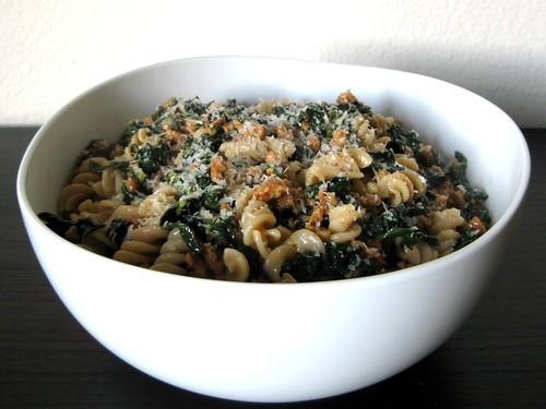 kale and sausage pasta