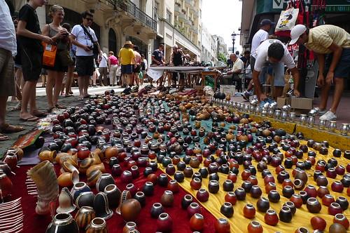 Mate Gourds - San Telmo Street Market - Buenos Aires, Argetina