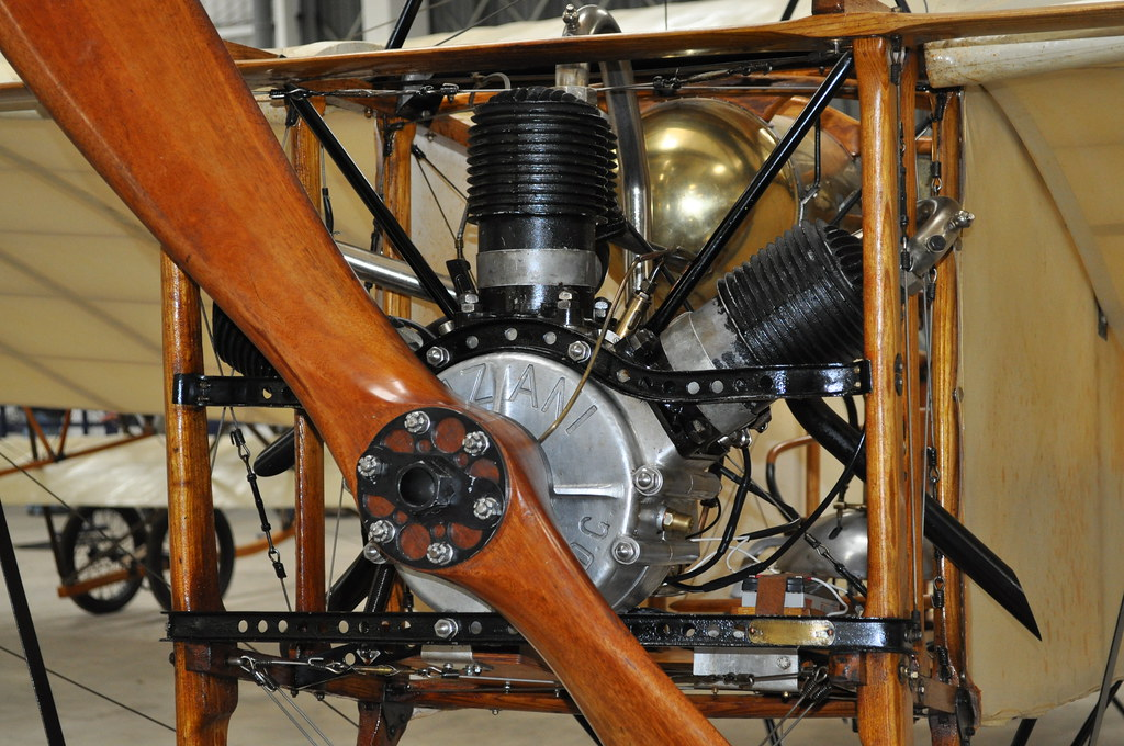 Bleriot G AANG Shuttleworth Collection (Richard.Crockett 64) Tags: French  Engine