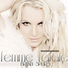 Britney Spears - Femme Fatale. ((young love murdered.)) Tags: photoshop graphic spears album femme cover britney fatale imnotyourbabe