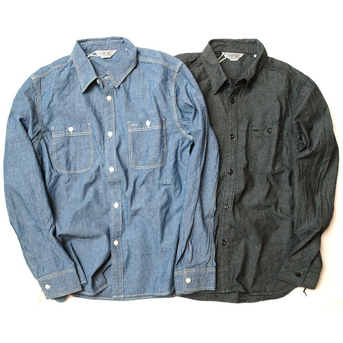 Five Brother / L/S Chambray Shirt