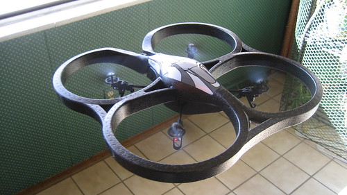 AR.drone in Flight