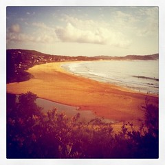 Another perfect summer morning (Ben.Wet) Tags: summer beach sunrise lagoon centralcoast iphone terrigal instagram