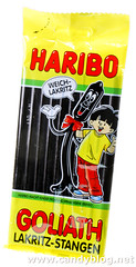 Haribo Goliath Lakritz-Stangen