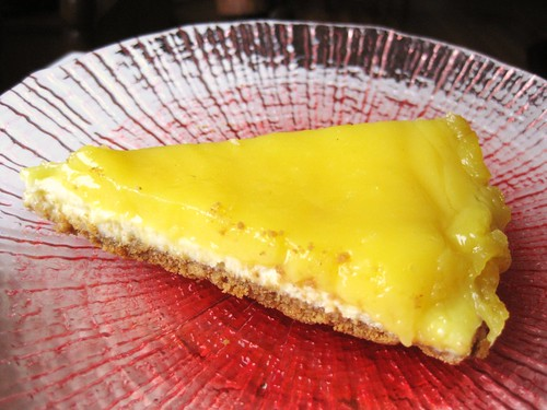 Ginger Lemon Cheesecake