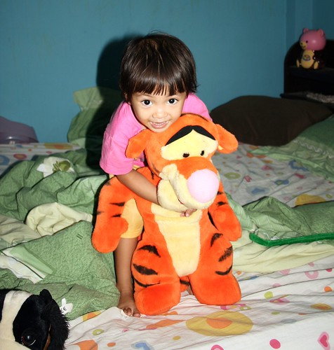 Nong Ja and Tigger