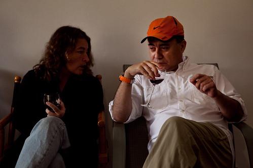 Carlos with Graciela