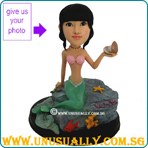 Personalized Sweet Lovely Mermaid Figurine