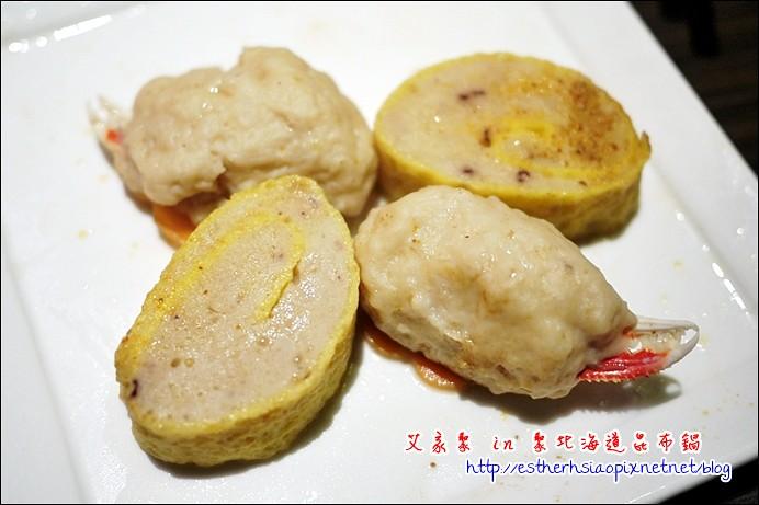 20 熟 蟹腳丸+墨魚蛋捲 雙拼