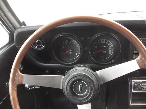 1973 Mazda 808 Coupe interior