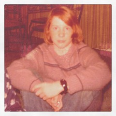 Me at fourteen. OMG on that hair, well it was the seventies. by ObieVIP