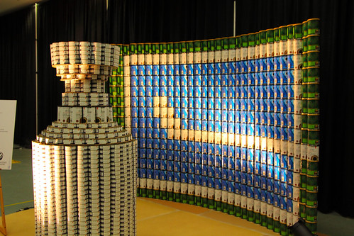 Canstruction - Stanley Cup Canucks