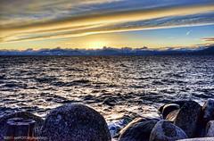 Lake Tahoe #6 (C. Roy Yokingco) Tags: travel blue sunset usa lake snow mountains cold water photography nikon rocks waves cloudy nevada deep tahoe windy laketahoe fresh clear nv alpine northshore round handheld nikkor inclinevillage douglascounty deeplake highway28 clearblue crystalbay laketahoebasin sr28 d700 memorialpoint afs2470mm nxtrfoto nextierphotography