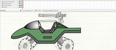 Warthog Doodle WIP (Vengeance of Lego) Tags: 2 6 3 1 lego 5 flash 4 7 8 9 halo cs reach spartan odst warthop