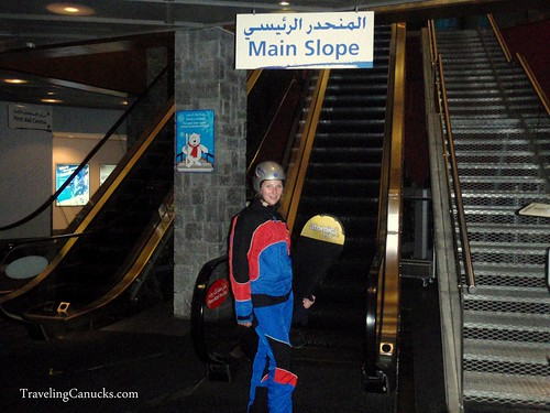Stairs to the Main Slope?