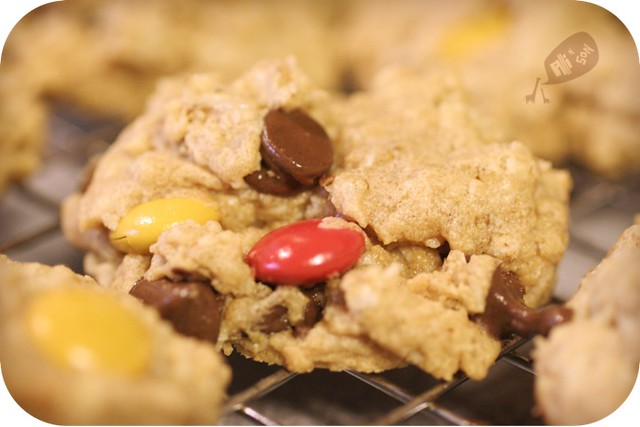 Sweet Tooth Friday: MONSTER Cookies