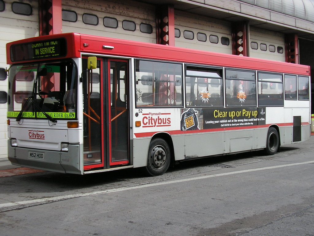 PLYMOUTH CITYBUS 52 M52 HOD