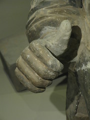 Thumbs up (TinaOo) Tags: soldier hand terracotta thumb