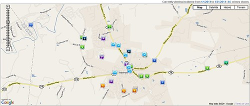 Waxhaw Crime Report January 2011