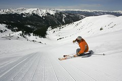 - a-basin skier, photo by