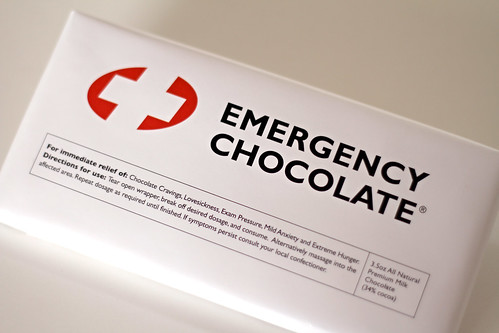 emergency chocolate by Elli :-)