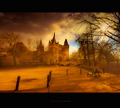 ...this thy golden time (ildikoneer) Tags: park city trees sunset cloud sunlight castle sunshine canon landscape golden hungary cityscape time air budapest sigma mm 1020 vajdahunyad vrosliget digitalcameraclub 40d colorphotoaward vajdahunyadvr absolutegoldenmasterpiece magicunicornverybest