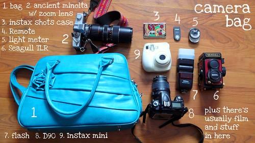 List 8 (Camera Bag)
