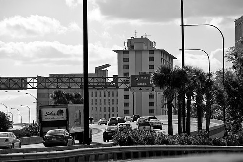 Tampa Exit Traffic #1