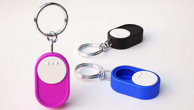 Keychain Pill Case