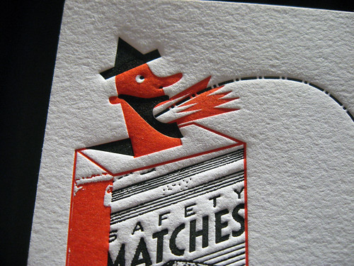 Andre da Loba Letterpress Card
