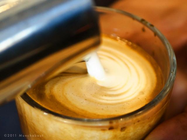 Cortado at Cognoscenti Coffee