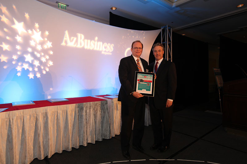 Behavioral Health Care Award winner Richard Clarke, PH.D., chief executive officer, Magellan Health Services of Arizona