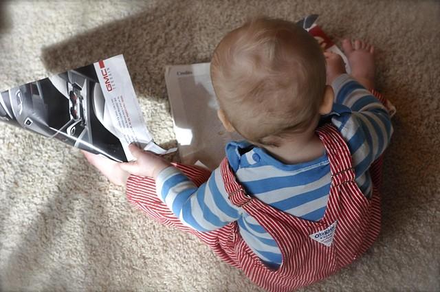 magazine tearing