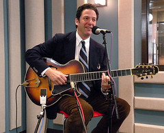 John Pizzarelli Live at KPLU (KPLU Radio) Tags: seattle guitar jazz swing tacoma npr garydavis kplu johnpizzarelli nprmusic abebeeson