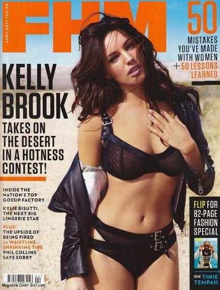 Kelly Brook za FHM 1 by Ljepota & Zdravlje BIH