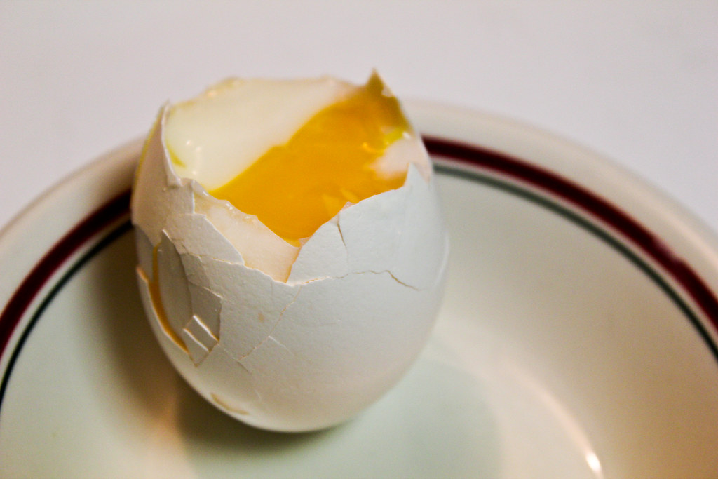 Hard Boiled Egg Cooked at 147.2 F
