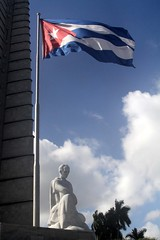 Cuba 2011 (214) (Alister Firth Photography) Tags: holiday tower statue architecture spain memorial havana cuba hero poet independence revolutionary josemarti informationsign