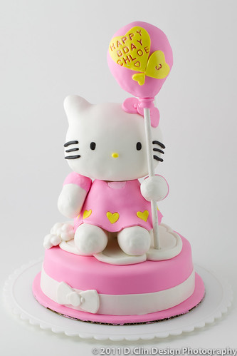 ❤ Hello Kitty Cake ❤ Full Front View