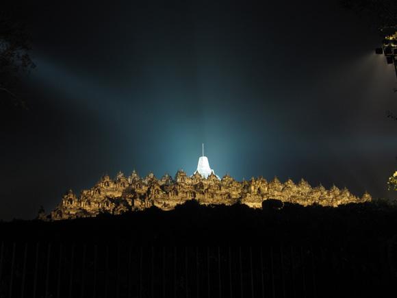 Borobudur at Night