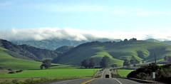 Farmland (0) (Photo Nut 2011) Tags: california road clouds hills