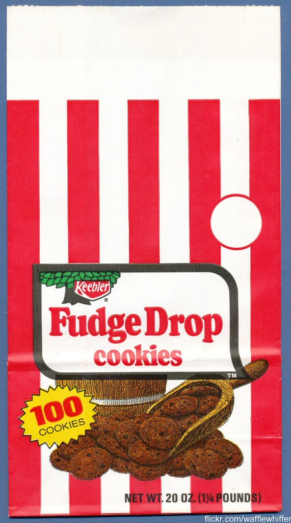 Fudge Drop Cookies - 1974