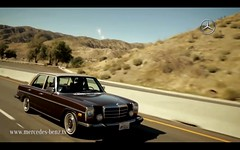 Documentary! (mercedesmotoring) Tags: road trip brown film francis mercedes benz video 300d documentary sean mercedesbenz 1975 tobacco pinstripe jg lavendar motoring w115 worldcars mercedesbenztv johnstun mercedesmotoringcom