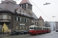 """E1 4736 kurz vor der Kreuzung """"Am Tabor"""" (Frederik Buchleitner) Tags: vienna wien tram streetcar e1 bim trambahn 4736 strasenbahn"""