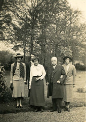 James & Ella Gourlay and family 1939