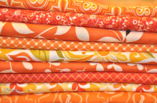 A Blockwork Orange fabric selection