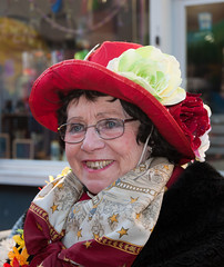 Carnaval 2011 in Breda - Carnival 2011 in the Dutch city of Breda (16) (RuudMorijn) Tags: street carnival winter party color netherlands dutch hat weather smiling festival festive fun happy person glasses costume colorful europe downtown village dress audience painted traditional decoration large vivid sunny center parade event entertainment human together enjoy recreation annual cheerful relaxation breda lachen citycenter shining dressed oud brabant vrouw pleasure kleurrijk noordbrabant folkfestival sfeer hoed northbrabant sociable publiek impressie 2011 verkleed oudere kleurig publicentertainment kielegat