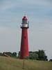 Leuchtturm von Hoek van Holland (Priska B.) Tags: light lighthouse holland rot nederland van vuurtoren leuchtturm hoek hoekvanholland niederlanden wbnawnl