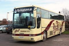 Atkinsons Ingleby Arncliffe H13ATK. (EYBusman) Tags: school bus volvo coach yorkshire north h independent premiere arncliffe atkinson plaxton northallerton b10m ingleby h13atk eybusman
