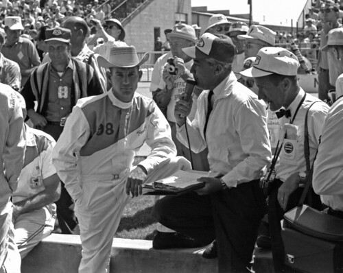 Parnelli Jones on Race Morning of the 1963 Indianapolis 500