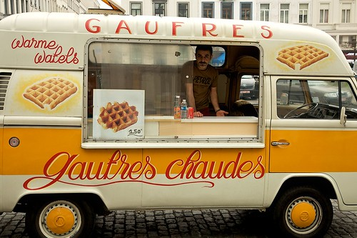 the man who sells waffles